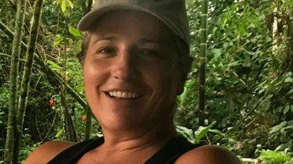 Fotografía familiar que muestra a la ciudadana colombo-español Juana María Perea Plata. Quien fue asesinada en la localidad de Nuquí, en el departamento del Chocó EFE/ Archivo Familiar.