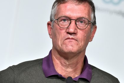 Anders Tegnell, epidemiólogo principal de la Agencia de Salud Pública (Agencia de Noticias TT / Claudio Bresciani a través de REUTERS)