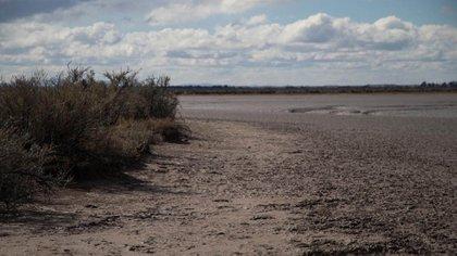 En esta zona fue encontrado el cadáver que podría ser de Facundo Astudillo Castro (Lihueel Althabe)