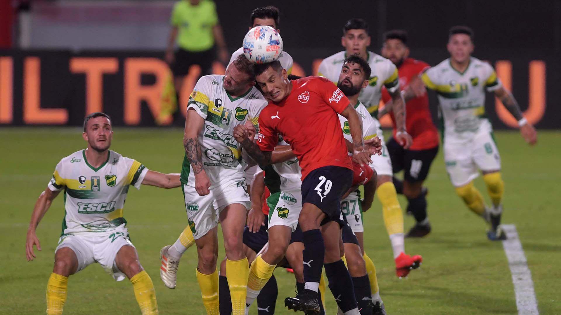 Independiente vs Defensa y Justicia