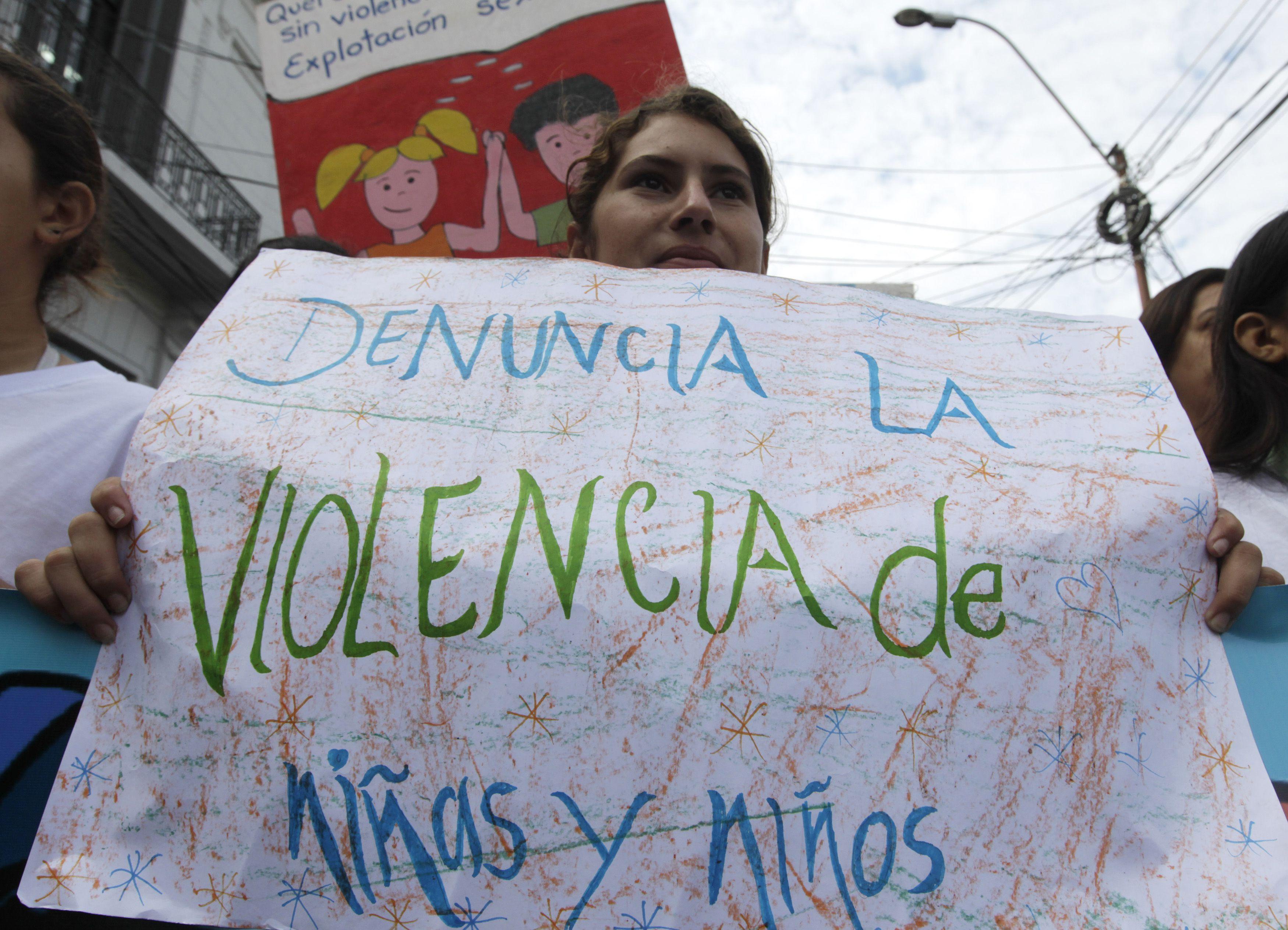 Abuso sexual inantil en Paraguay
