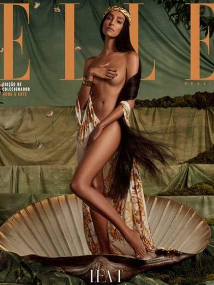 """Lea T en la portada de """"ELLE"""" Brasil (Instagram)"""