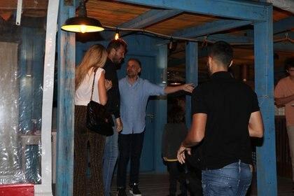 La familia eligió el restaurante italiano Il Faro (Fotos: GM Press)