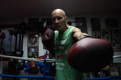 Miguel Ángel Castellini tenía un gimnasio en la calle Viamonte (Foto: Franco Fafasuli)
