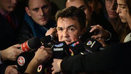 El fiscal federal Guillermo Marijuan. (Adrián Escandar)