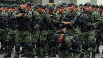 Este miércoles, la Secretaría de Defensa Nacional público el decreto por el que se reforman diversas disposiciones del Reglamento de Reclutamiento de Personal para el Ejército y Fuerza Aérea Mexicanos (Foto: Cuartoscuro)