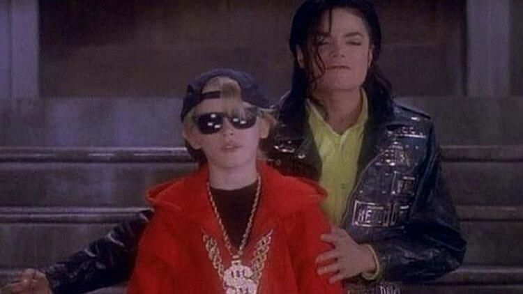 El rey del pop se relacionó con actores jóvenes en los 90 (Foto: Archivo)