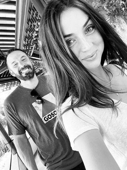 Ana de Armas shared this photo with Ben Affleck