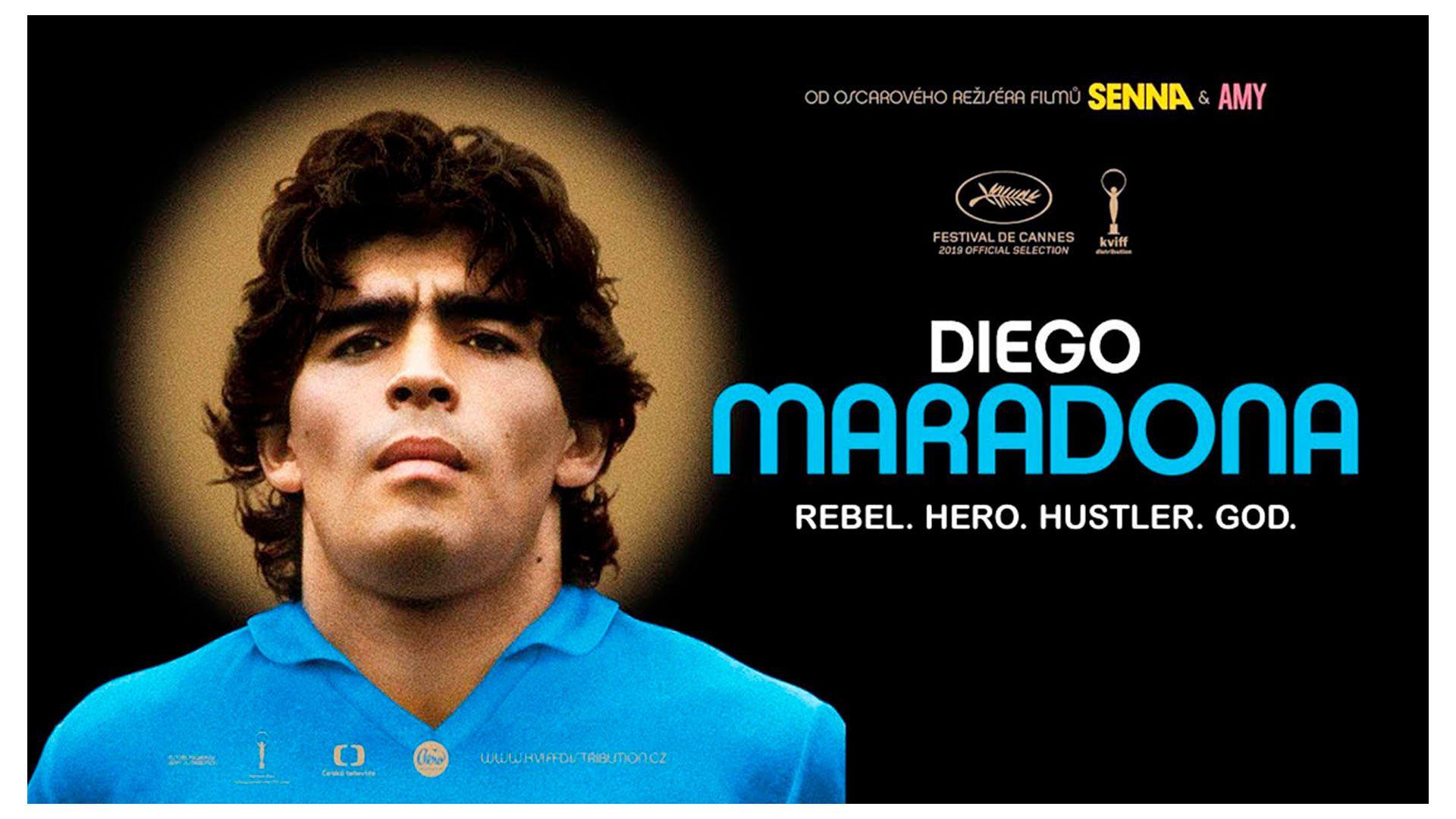 Diego Maradona 2019 Asif Kapadia
