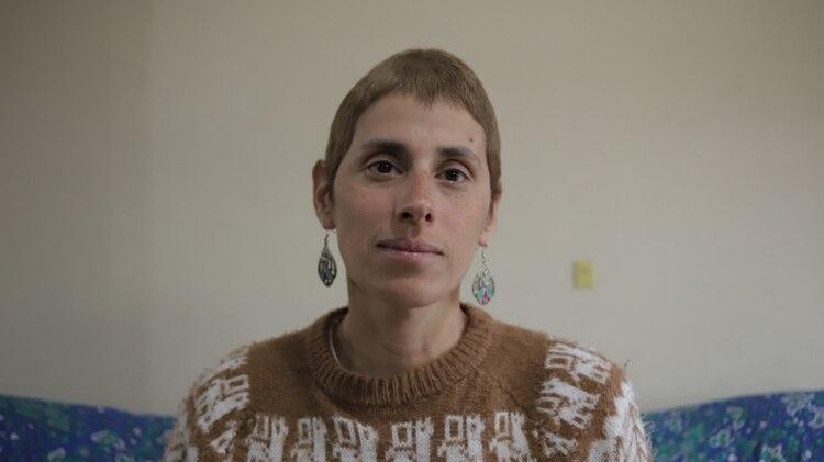 Fabiana Puebla es una de las sobrevivientes de Cromañón. El 30 de diciembre perdió a quien era su concubino (Lihueel Althabe)