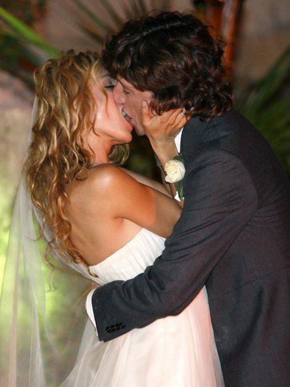 """""""Estoy súper ilusionada, me encuentro con un hombre que me ama, me quiere y me respeta"""", había dicho Paulina Rubio el día de su casamiento (Foto: REUTERS/Henry Romero)"""