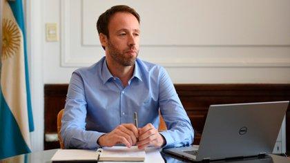 Pablo López - Ministro de Hacienda y Finanzas de la provincia de Buenos Aires