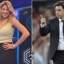 Alina Moine y Marcelo Gallardo