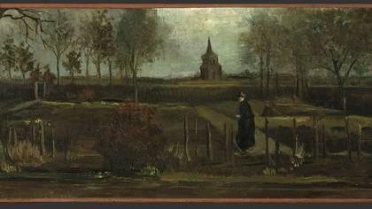 """""""El jardín de la casa parroquial en Nuenen en primavera"""""""