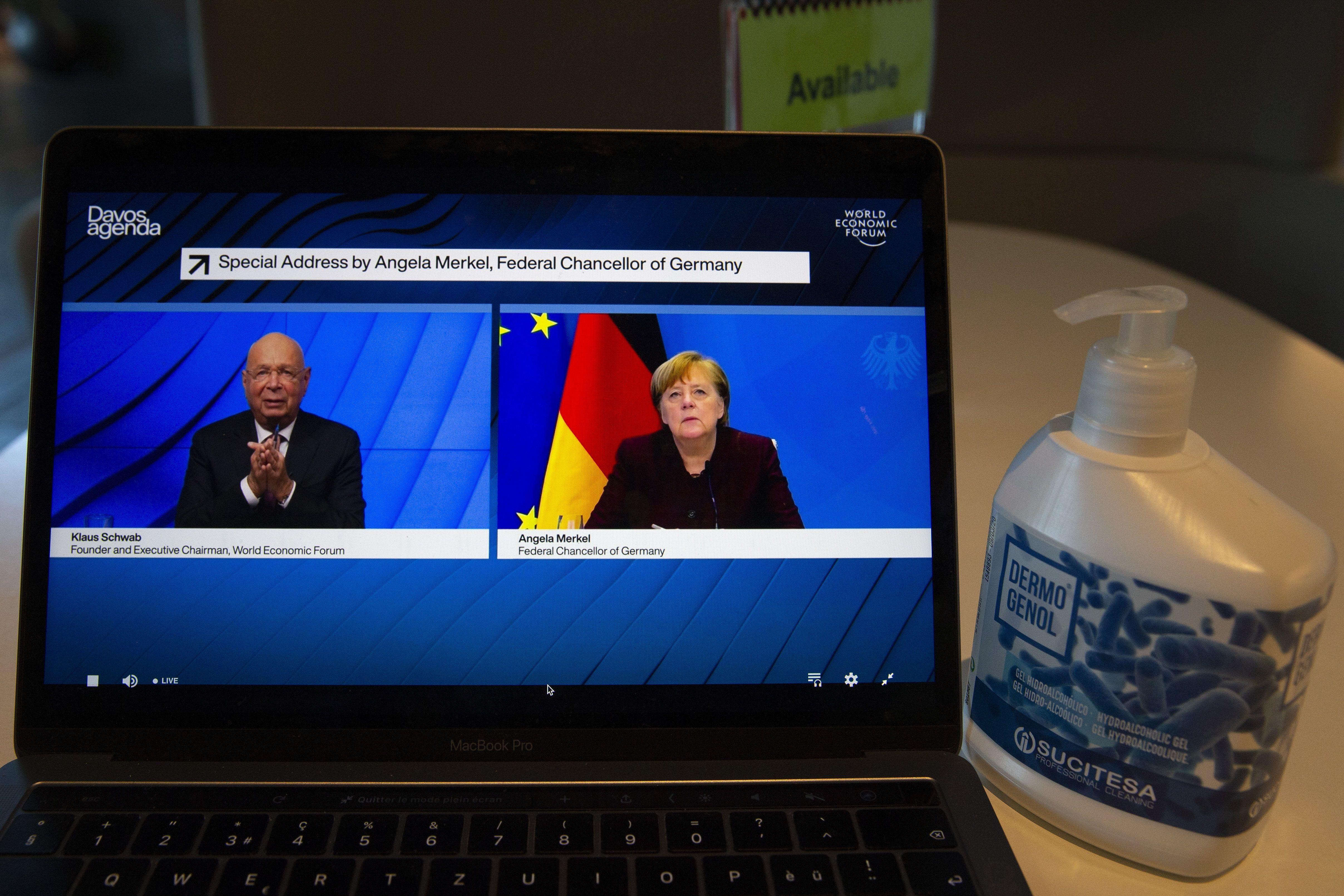 El Foro de Davos se realiza este año de forma virtual por la pandemia (Foto: EFE/EPA/SALVATORE DI NOLFI)