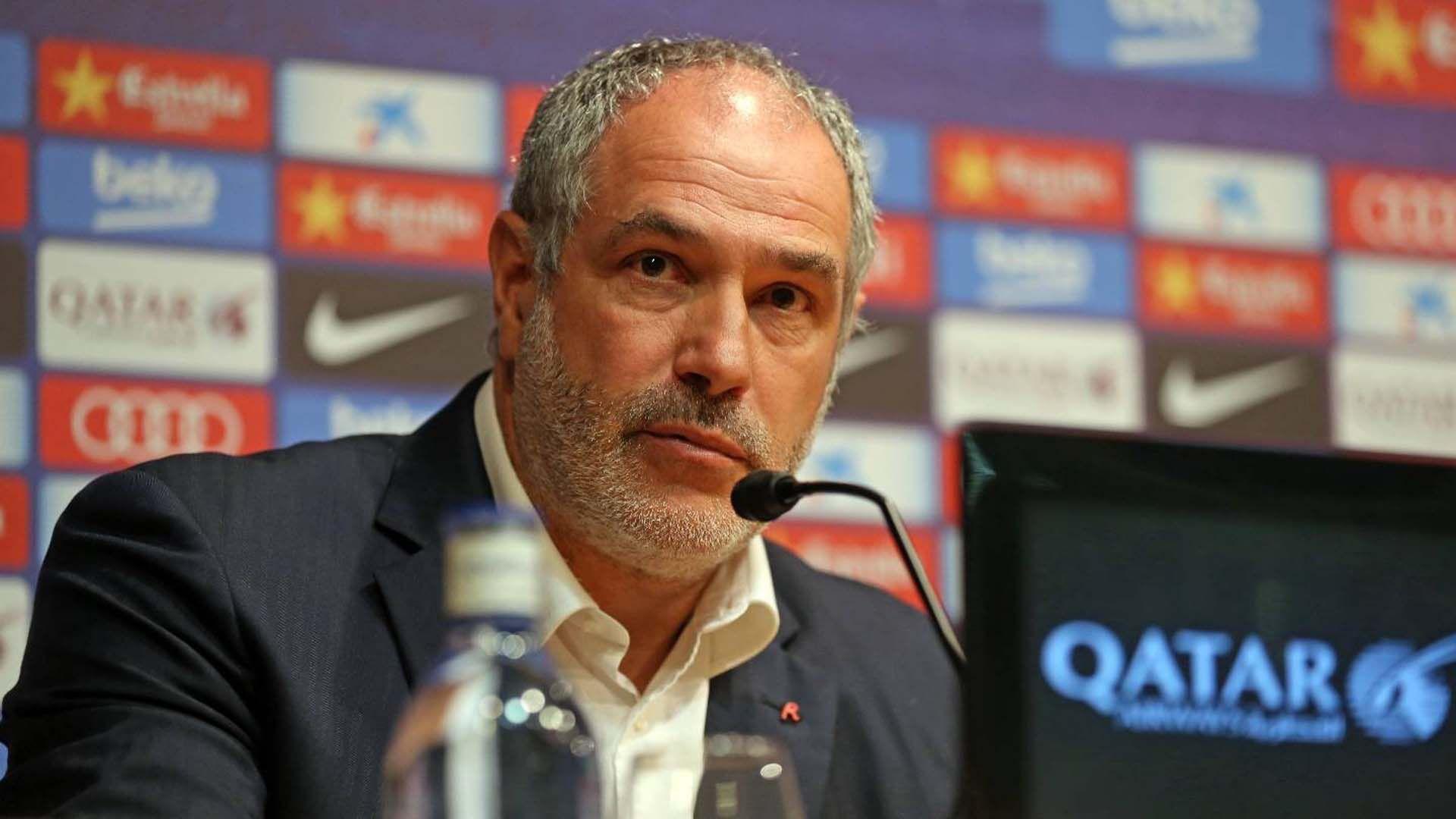 Zubizarreta fue el director deportivo del Barcelona hasta 2015