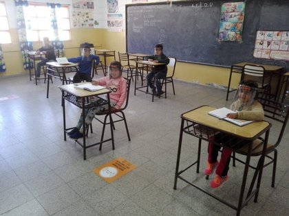 El lunes volvieron 170 alumnos en San Luis