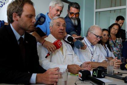 Jaime Mañalich, ministro de Salud chileno (REUTERS/Sebastian Martinez)