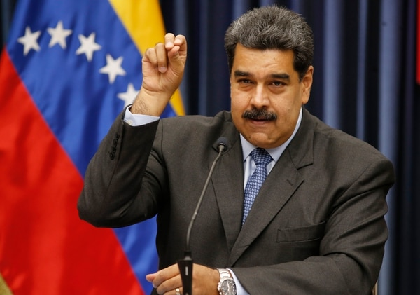 El régimen de Maduro amenazó en reiteradas oportunidades a Colombia (AP Foto/Ariana Cubillos)