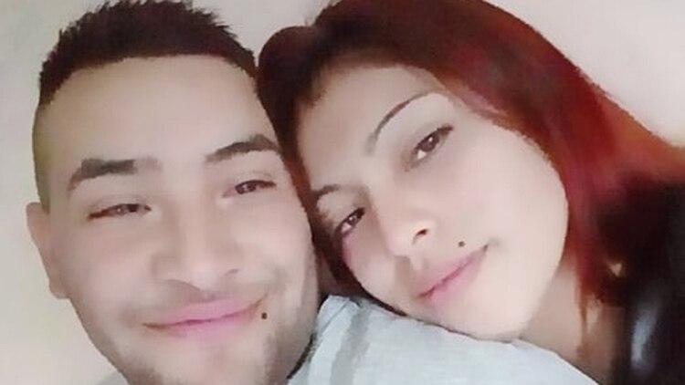 Los detenidos: Viviana Beatriz Roldán, de 25 años, y su concubino Federico Sebastián Espinoza, de 23