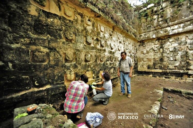 El palacio en Kulubá era usado por la élite maya (Foto: www.inah.gob.mx)