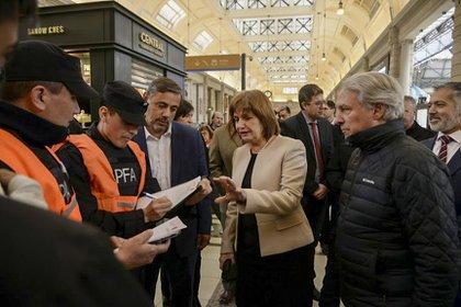 Patricia Bullrich, ex ministra de Seguridad de la Nación (foto de archivo)
