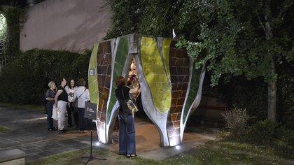 """La obra """"Etz Jaím, el Árbol de Vida"""", diseñado por el artista Clorindo Testa"""