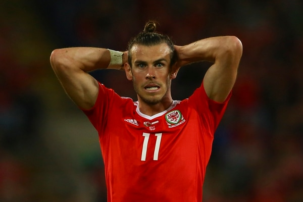 Gareth Bale, la estrella del Real Madrid que juega en la selección de Gales (AFP)