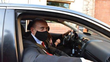 Omar Perotti, Gobernador de Santa Fe. Mañana funcionarios de su administración asistirán a la convocatoria del Juez Lorenzini  (Franco Fafasuli)
