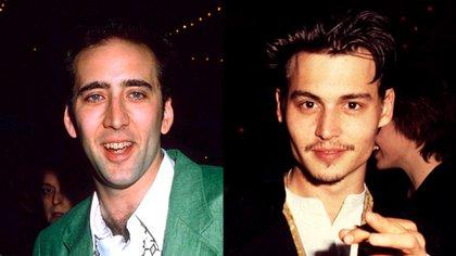 Nicolas Cage convenció a Johnny Depp para que haga una audición y el resto es historia