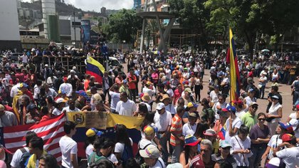 Los venezolanos vuelven a salir a las calles (@Presidencia_VE)