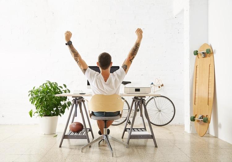 Incluso un cambio de escenario mientras se trabaja puede ayudar (Shutterstock)