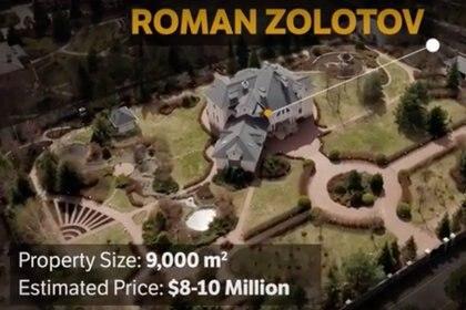 El ex guardaespaldas de Putin Roman Zolotov habría comprado una enorme propiedad, como otros ex FSO, cerca de Moscú. (Novaya Gazeta)