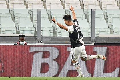 Cristiano Ronaldo celebra uno de los goles con los que la Juventus venció a la Lazio (EFE/EPA/ALESSANDRO DI MARCO)