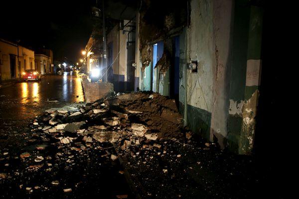 Un terremoto de 8,2 grados de magnitud sacudió el sur de México: hay al menos 30 muertos