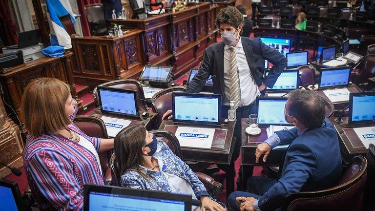 senadores oposicion senado