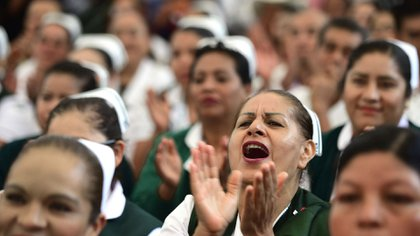 El presidente quiere duplicar el número de estudiantes admitidos en las escuelas de medicina (Foto: Cuartoscuro)