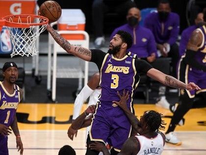Anthony Davis se perdió gran parte de la temporada regular de la NBA (Jayne Kamin-Oncea-USA TODAY Sports)