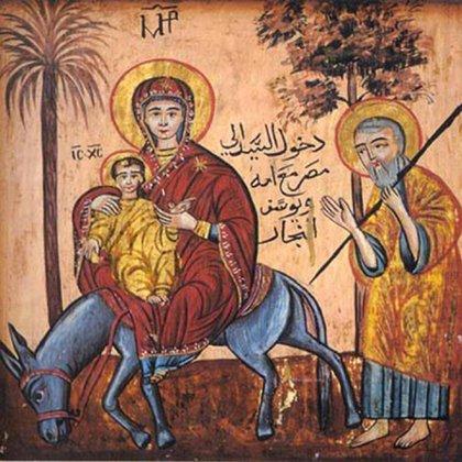 El itinerario que siguieron José, María y Jesús fue establecido a partir de una visión del Papa Teófilo en el siglo IV