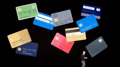 La tarjeta de crédito de Apple vendrá en versión digital y en una versión física, de titanio (AFP)