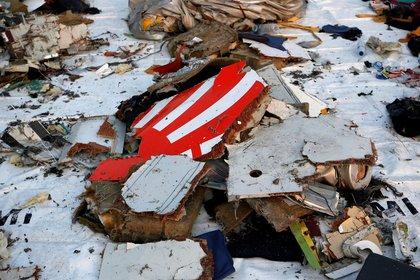 Los restos del 737 MAX de Lion Air que se estrelló en Indonesia en 2018 (REUTERS/Willy Kurniawan/archivo)