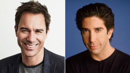 """Eric McCormack audicionó para Ross en """"Friends"""", que fue para David Schwimmer"""