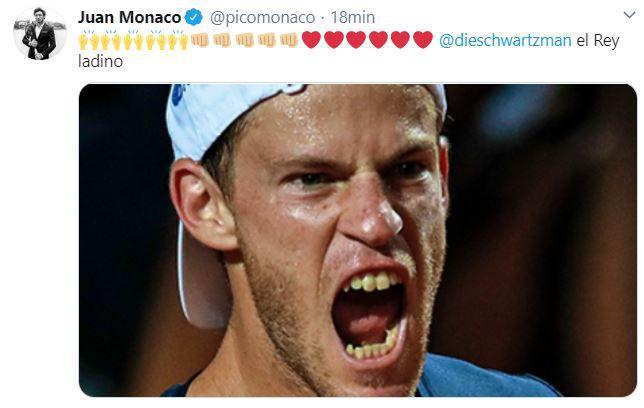 Juan Monaco sobre Peque