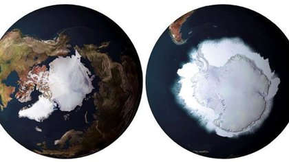 Deshielo polar, analizado por la NASA (EFE)