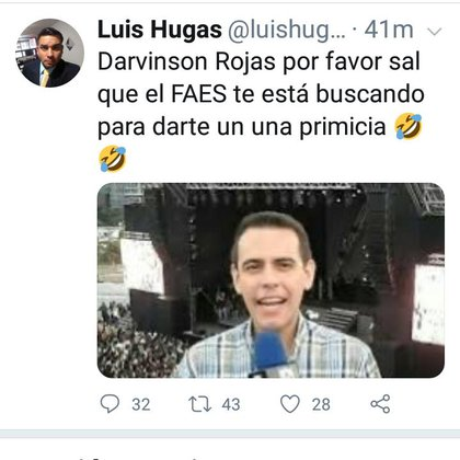 Luis Hugas se burló de la detención