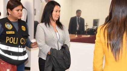Keiko Fujimori detenida (Reuters)