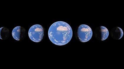 Google Earth añade una capa temporal para observar la evolución de la Tierra en los últimos 37 años