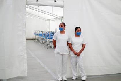 Las unidades médicas serán colocadas al lado de hospitales que operan en la CDMX. (Foto: Reuters)