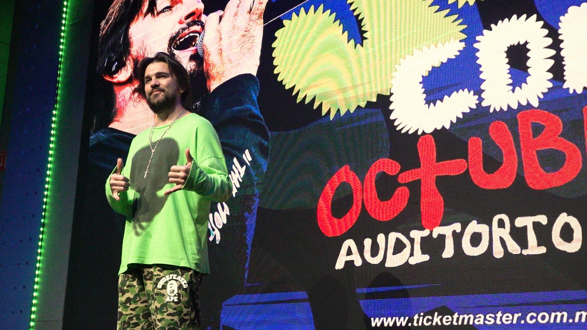 Juanes se presentará en el Auditorio Nacional el próximo 25 de octubre (Foto: Infobae)