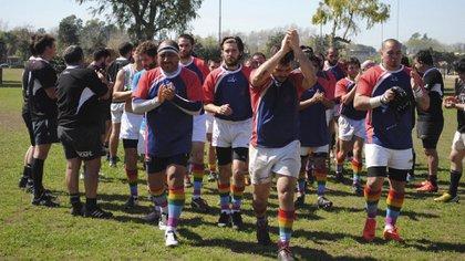 Ciervos Pampas está integrado por varones de diversas orientaciones sexuales (Ciervos Pampas Rugby Club)